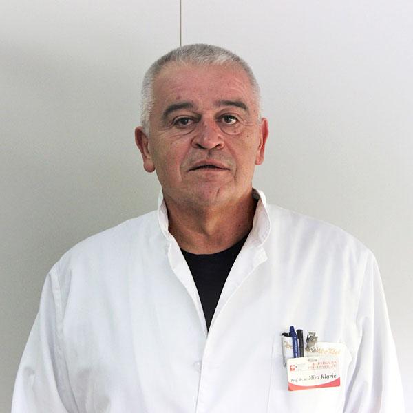 Prof.dr.sc. Miro Klarić, dr.med.
